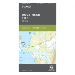 Dogs Head Tier Topographic Map
