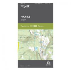 Hartz 1:50,000 Topographic Map