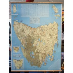 Tasmania Visitors Map - Flat