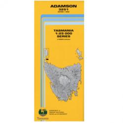 Adamson 1-25k Topo Map