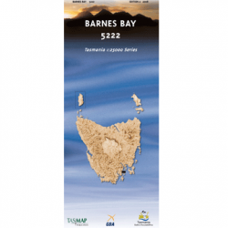 Barnes Bay Topographic Map