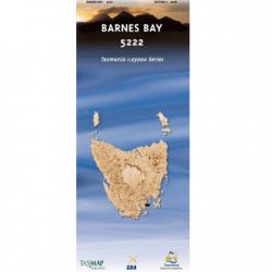 Barnes Bay Topographic Map