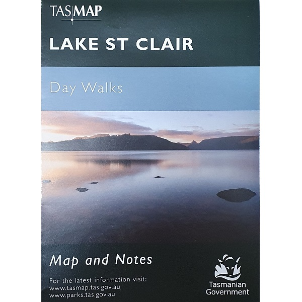 Lake St Clair Day Walks Map Cover