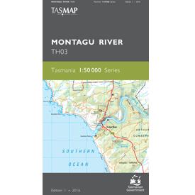 Montagu River Topographic Map