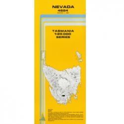 Nevada Topographic Map