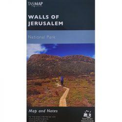 Walls of Jerusalem National Park Map