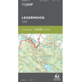 Legerwood Topographic Map