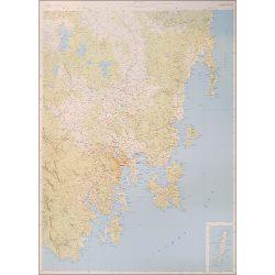 South East Tasmania Map- Flat
