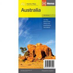 Australia Handy Map Front Cov er 9781876413095