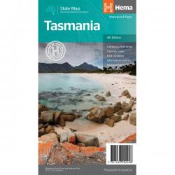 Tasmania State Map 9321438002208