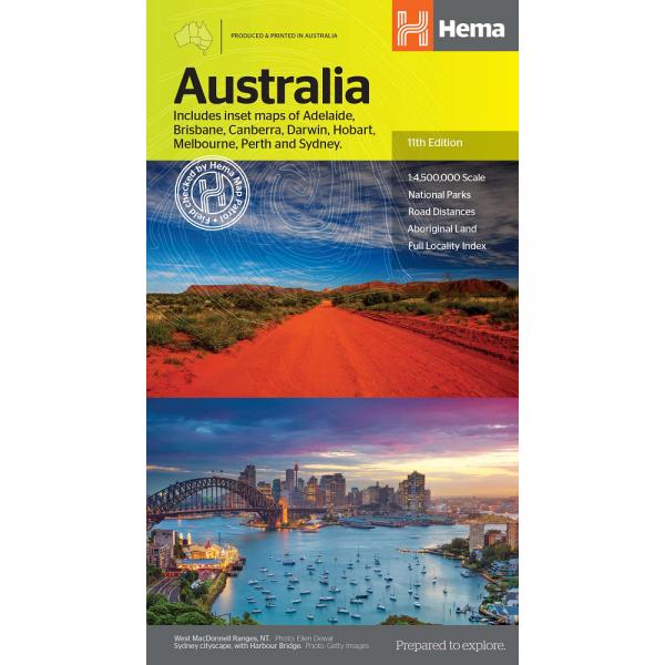 Australia Large Map 9321438002130