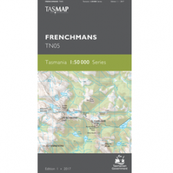 Frenchmans 1:50,000 Topographic Map