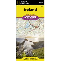 Ireland Adventure Travel Map