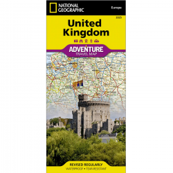 United Kingdom Adventure Travel Map