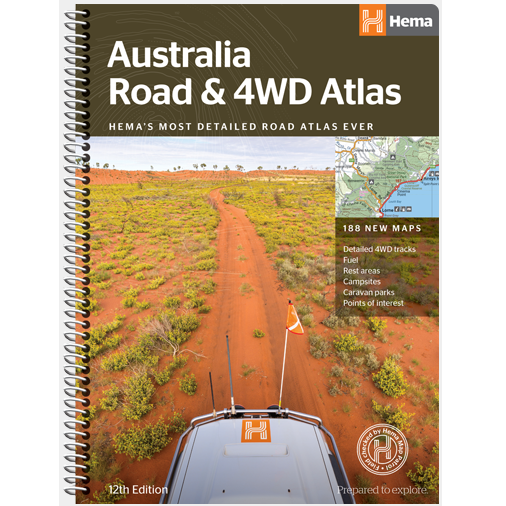 Australia Road & 4WD Atlas