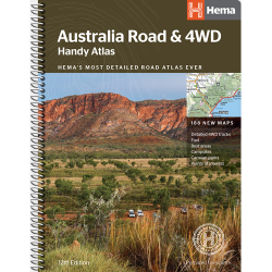 Australia Road & 4WD Handy Atlas