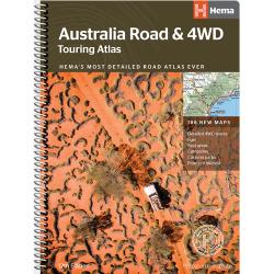 Australia Road & 4WD Touring Atlas
