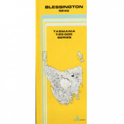 Blessington 1:25,000 Topographic Map