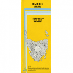 Block 1:25,000 Topographic Map