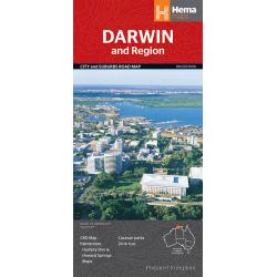 Darwin & Region Map