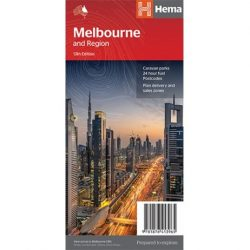 Melbourne & Region Map