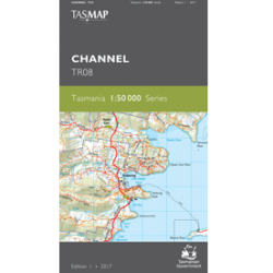 Channel 1:50,000 TR08 Topographic Map