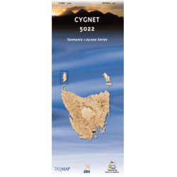 Cygnet Topographic Map