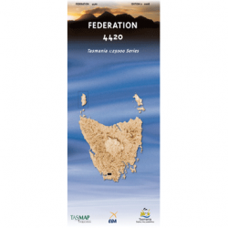 Federation Topographic Map