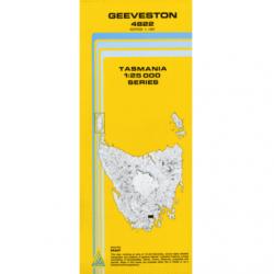 Geeveston Topographic Map