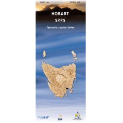 Hobart Topographic Map