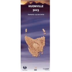 Huonville Topo Map