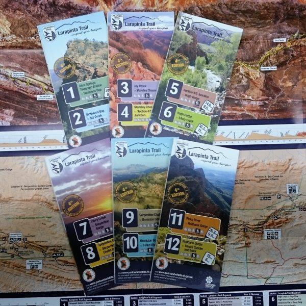 Larapinta Trail Map Pack