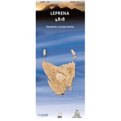 Leprena Topographic Map