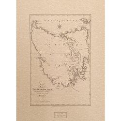 New Map of Van Diemens Land 1825