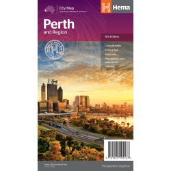 Perth and Region Map - Front