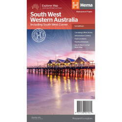 South West Western Australia Map