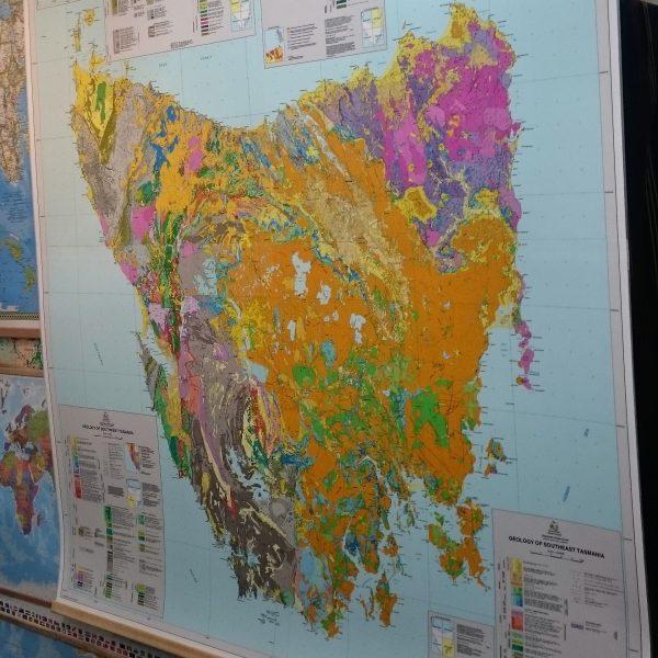 Tasmania Geology Map