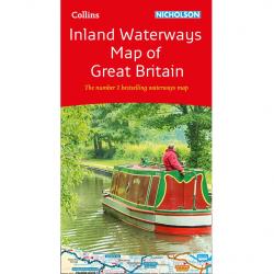 Inland Waterways Map Great Britain 9780008363802