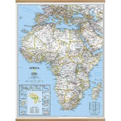 Africa Classic Wall map enlarged