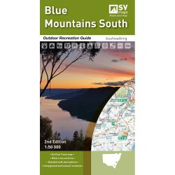 Blue Mountains South Map