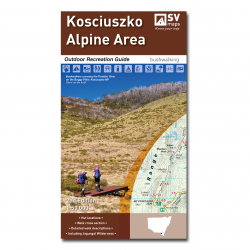 Kosciuszko Alpine Area Map