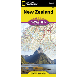 New Zealand Adventure Travel Map