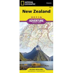 New Zealand Adventure Travel Map