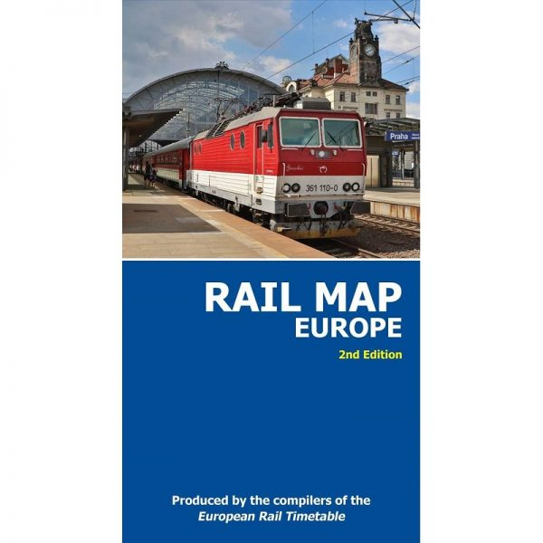 Rail Map Europe 2nd Edition