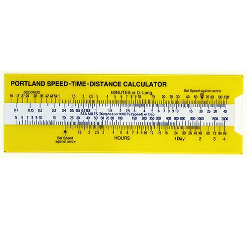 Speed-Time-Distance Slide Rule