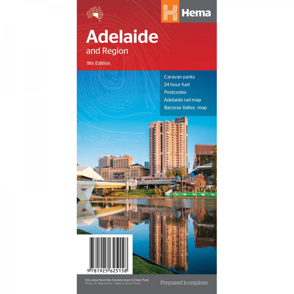 Adelaide and Region Map