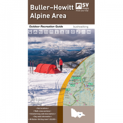 Buller-Howitt Alpine Area Map