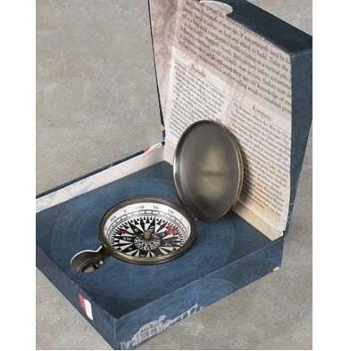 Bronze Pocket Compass