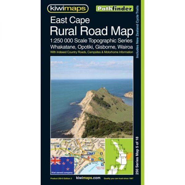 East Cape Rural Road Map
