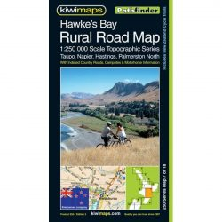 Hawkes Bay Rural Road Map NZ